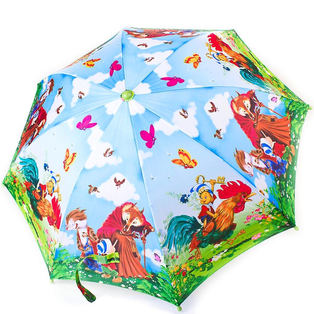 Зонт-трость облегченный детский полуавтомат ZEST (ЗЕСТ) Z21665-6 Zest