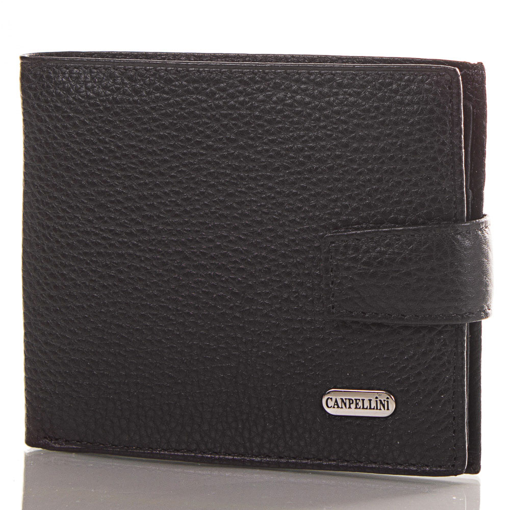 Мужской кожаный кошелек CANPELLINI (КАНПЕЛЛИНИ) SHI1045-2-FL Canpellini