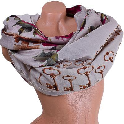 Женский хлопковый шарф 182 на 87 см  ETERNO (ЭТЕРНО) ES0908-3-1-Y2 Eterno
