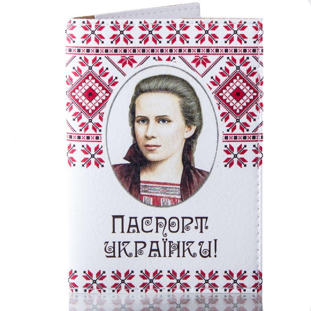 Женская обложка для паспорта PASSPORTY (ПАСПОРТУ) KRIV124 Passporty