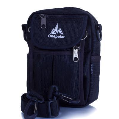 Мужская спортивная сумка ONEPOLAR (ВАНПОЛАР) W4177-navy Onepolar