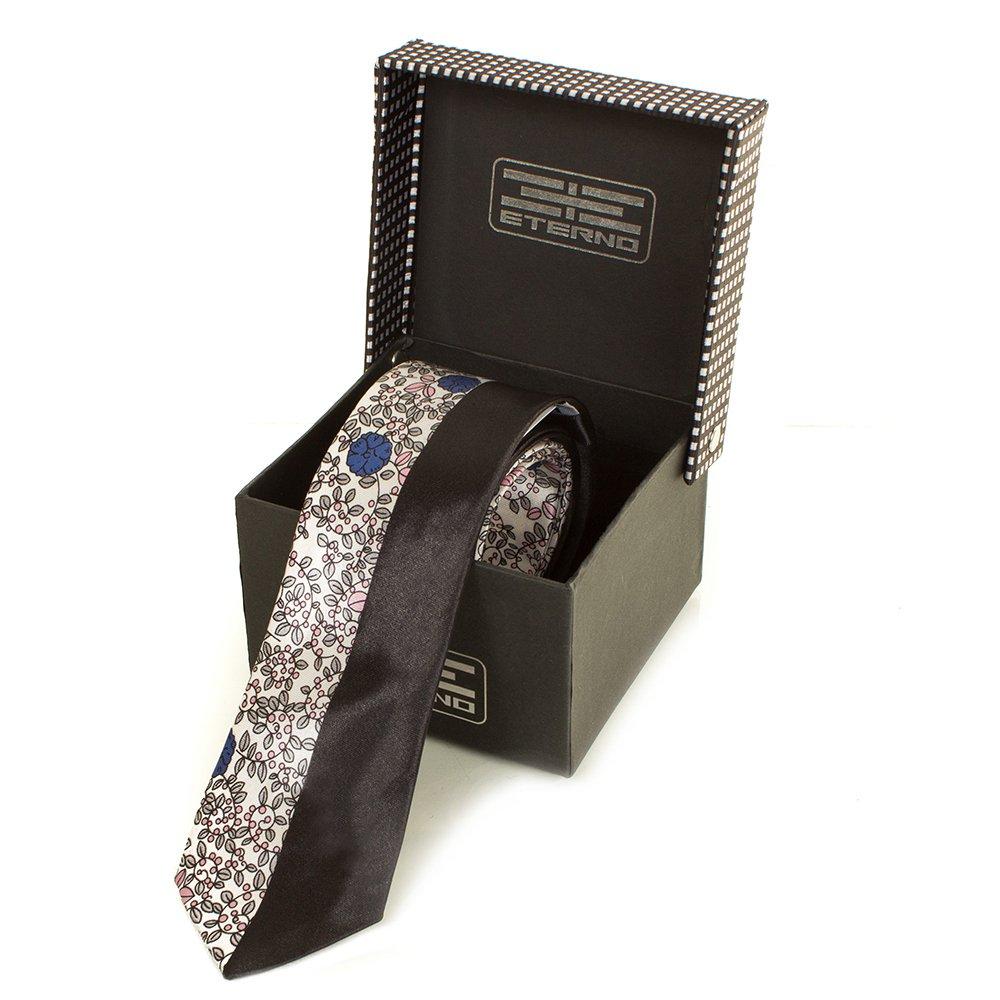 Мужской шелковый галстук ETERNO (ЭТЕРНО) EG619-1 Eterno