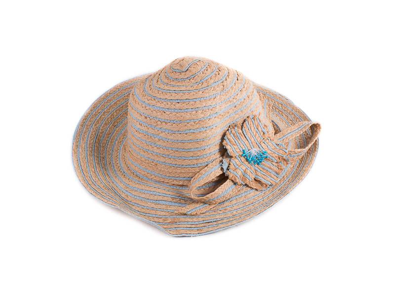 Шляпа женская ETERNO (ЭТЕРНО) EH-64-blue Eterno