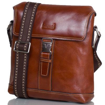 Мужская кожаная сумка-почтальонка ETERNO (ЭТЭРНО) ET8902 Eterno