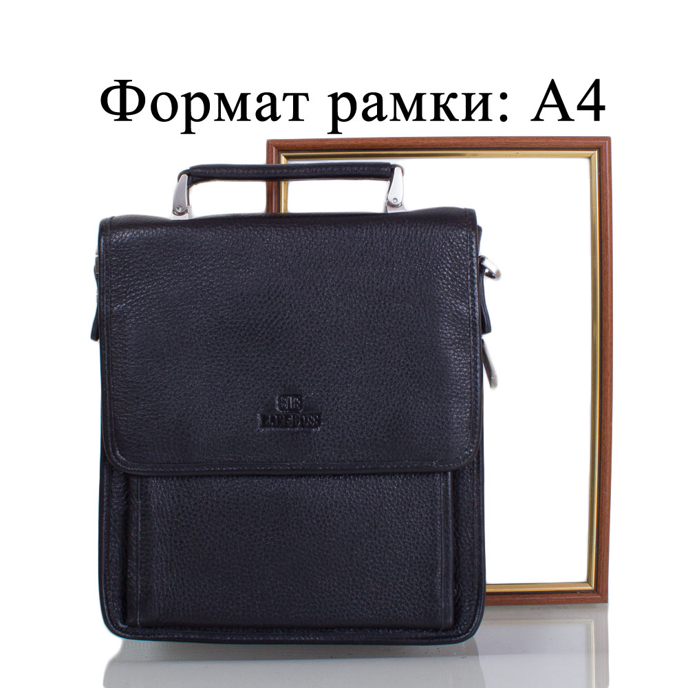 6f667c96b4fd Мужская кожаная сумка-барсетка LARE BOSS (ЛАРЕ БОСС ) TU49617-3-black.  Ninja Slider trial version. 123456789