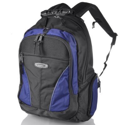 Мужской рюкзак с отделением для ноутбука ONEPOLAR (ВАНПОЛАР) W1077-navy Onepolar