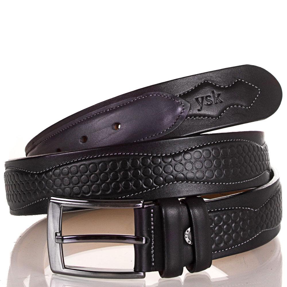 Ремень мужской кожаный Y.S.K. (УАЙ ЭС КЕЙ) SHI4040-2 Y.S.K