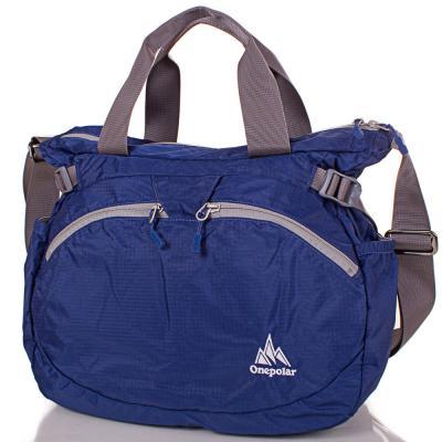Женская спортивная сумка через плечо ONEPOLAR (ВАНПОЛАР) W5220-navy Onepolar