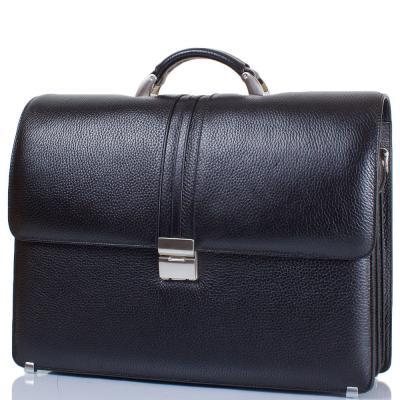 """Кожаный мужской портфель с отделением для ноутбука с диагональю экрана до 12,6"""" DESISAN (ДЕСИСАН) SHI317-011 Desisan"""