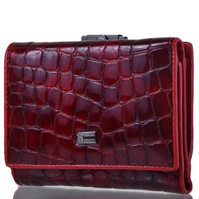 Кошелек женский кожаный WANLIMA (ВАНЛИМА) W82042840015-red Wanlima