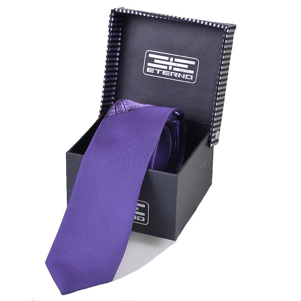 Мужской шелковый галстук ETERNO (ЭТЕРНО) EG557 Eterno