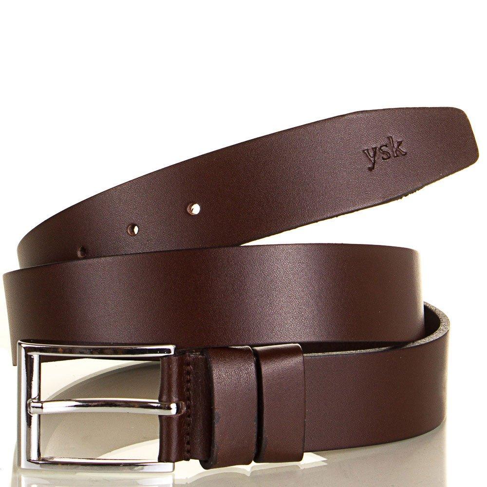 Ремень мужской кожаный Y.S.K. (УАЙ ЭС КЕЙ) SHI4-2007-10 Y.S.K