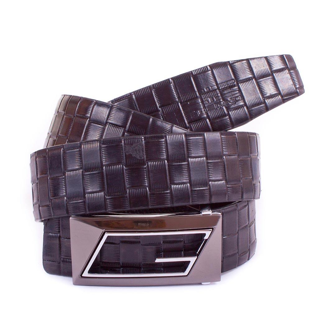 Мужской кожаный ремень ETERNO (ЭТЭРНО) ET1306-8-black Eterno