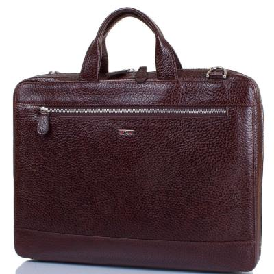 """Мужская кожаная сумка с отделением для ноутбука с диагональю экрана до 12,6"""" DESISAN (ДЕСИСАН) SHI1347-019 Desisan"""