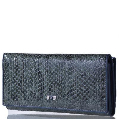 Кошелек женский кожаный WANLIMA (ВАНЛИМА) W120443300141light-green Wanlima