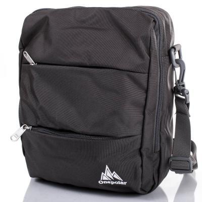 Мужская спортивная сумка ONEPOLAR (ВАНПОЛАР) W5676-grey Onepolar