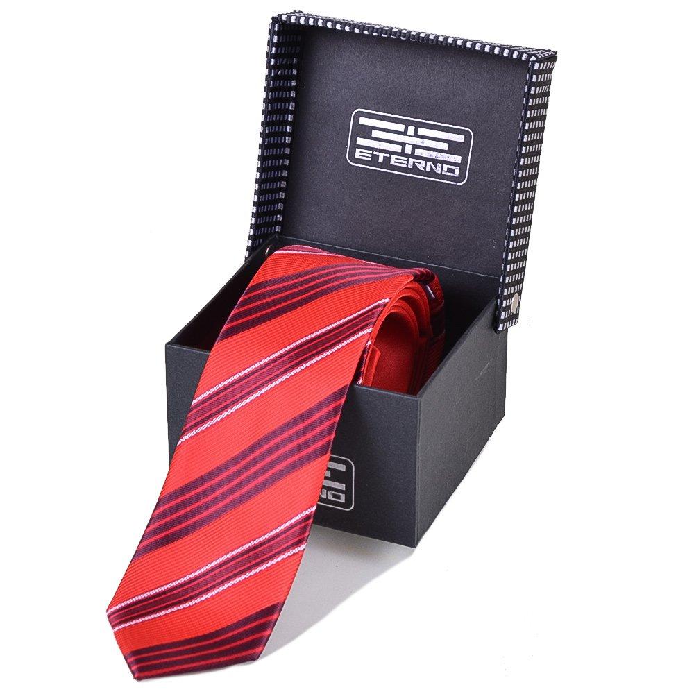 Мужской шелковый галстук ETERNO (ЭТЕРНО) EG598 Eterno