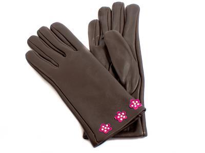 Перчатки женские кожаные ETERNO (ЭТЕРНО) E2513-Y Eterno