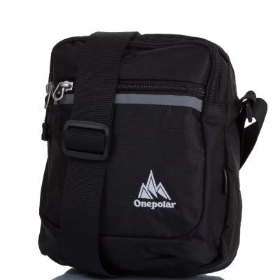 Мужская спортивная сумка ONEPOLAR (ВАНПОЛАР) W5632-black Onepolar
