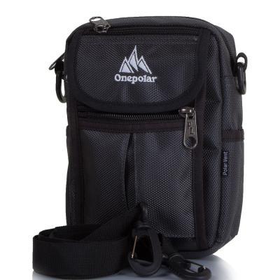 Мужская спортивная сумка ONEPOLAR (ВАНПОЛАР) W4177-grey Onepolar