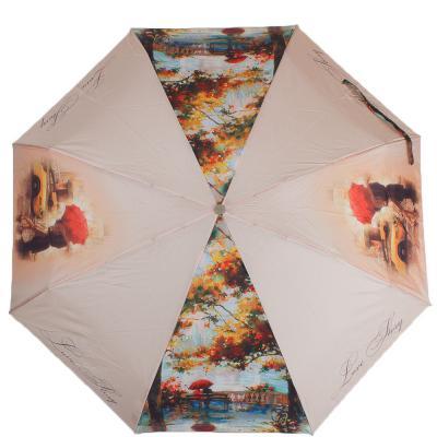 Зонт женский компактный полуавтомат ZEST (ЗЕСТ) Z24665-4003 Zest