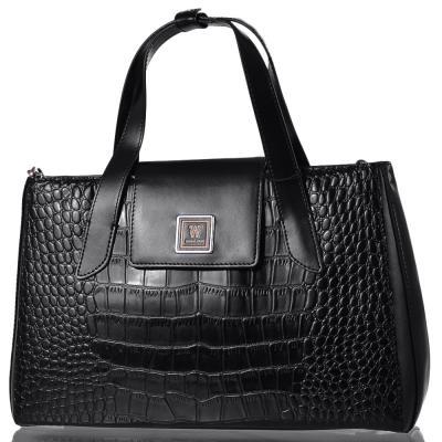 2cdc4892906a Женская кожаная сумка WANLIMA (ВАНЛИМА) W12029480014-black 6022808 ...