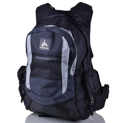 Мужской треккинговый рюкзак ONEPOLAR (ВАНПОЛАР) W918-grey Onepolar