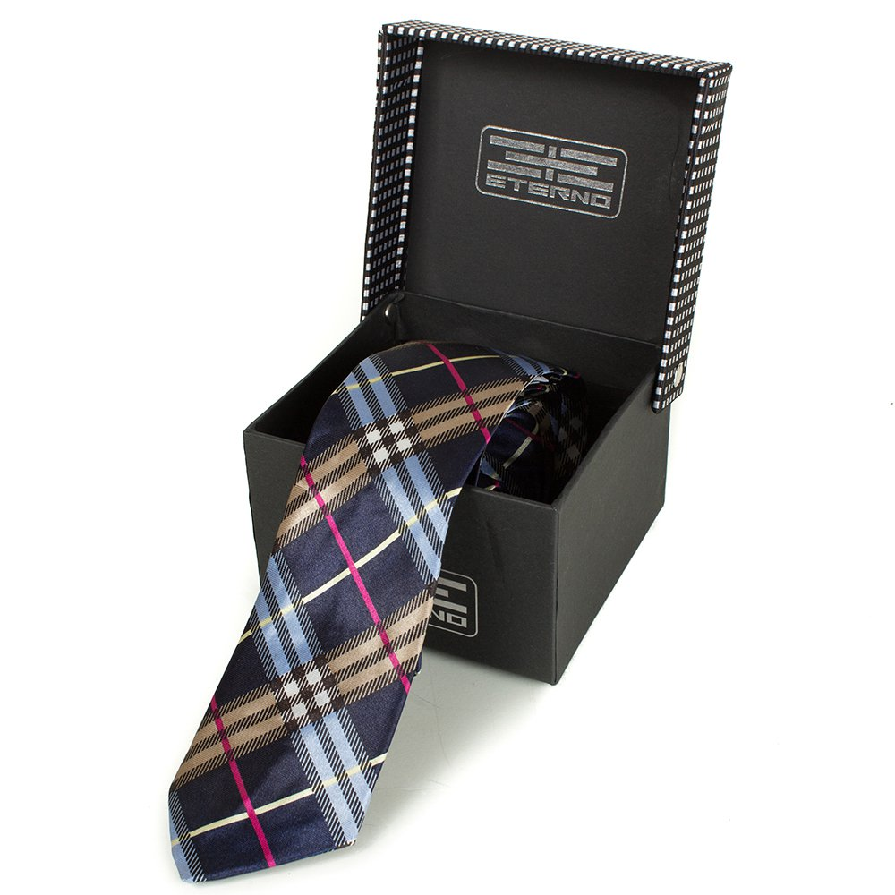 Мужской шелковый галстук ETERNO (ЭТЕРНО) EG618 Eterno