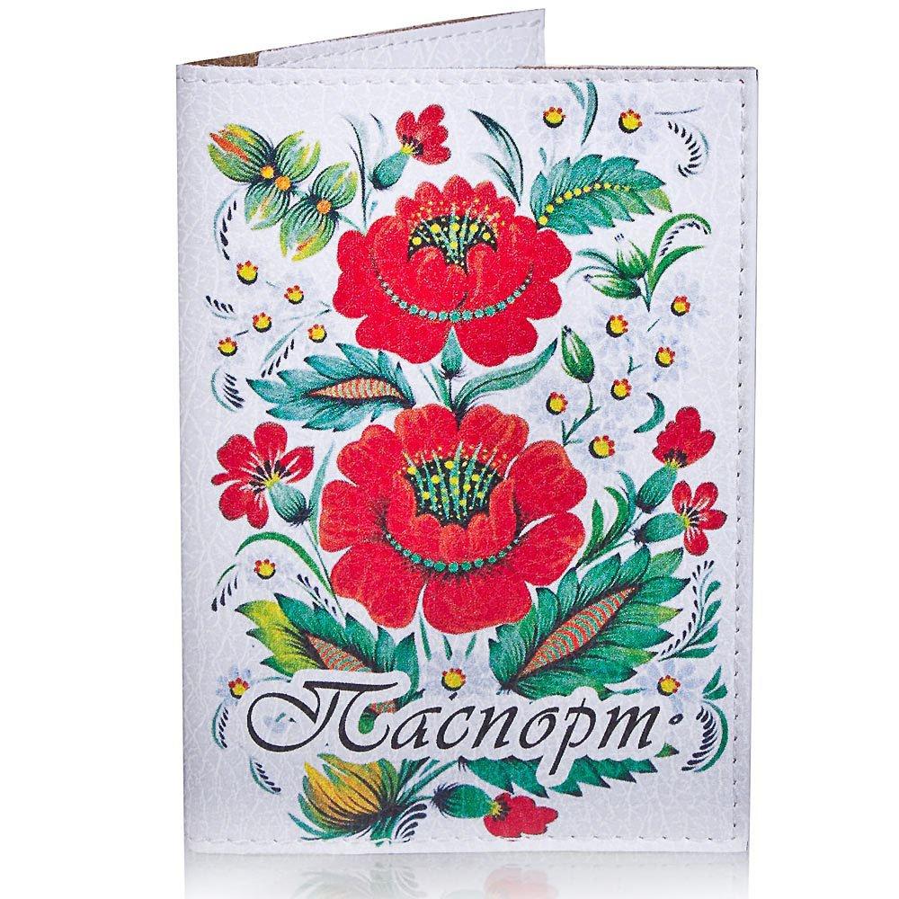 Женская обложка для паспорта PASSPORTY (ПАСПОРТУ) KRIV126 Passporty