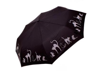Зонт женский автомат DOPPLER (ДОППЛЕР) DOP7441465C-black Doppler