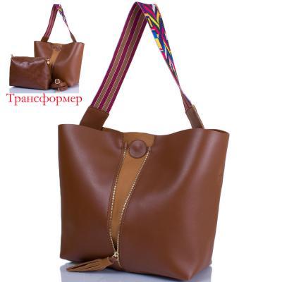 Женская сумка-трансформер из качественного кожезаменителя ETERNO (ЭТЕРНО) ETK719-10 Eterno