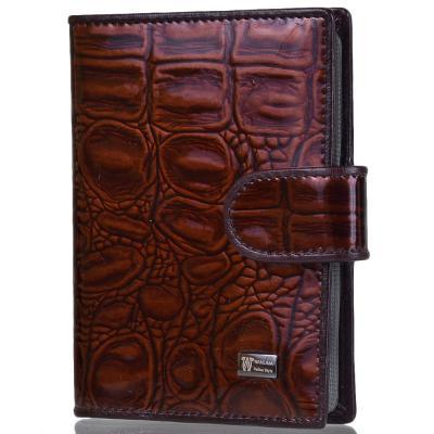 Женский бумажник для водителя WANLIMA (ВАНЛИМА) W71041560054-coffee Wanlima