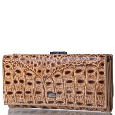 Женский кожаный кошелек WANLIMA (ВАНЛИМА) W500423229-cream Wanlima