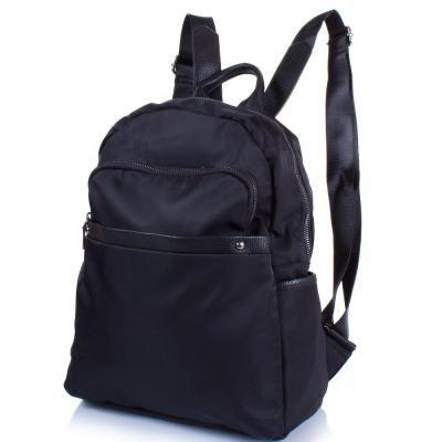 f42b5235a338 Женский рюкзак из качественного кожезаменителя и ткани AMELIE GALANTI  (АМЕЛИ ГАЛАНТИ) A981171-black