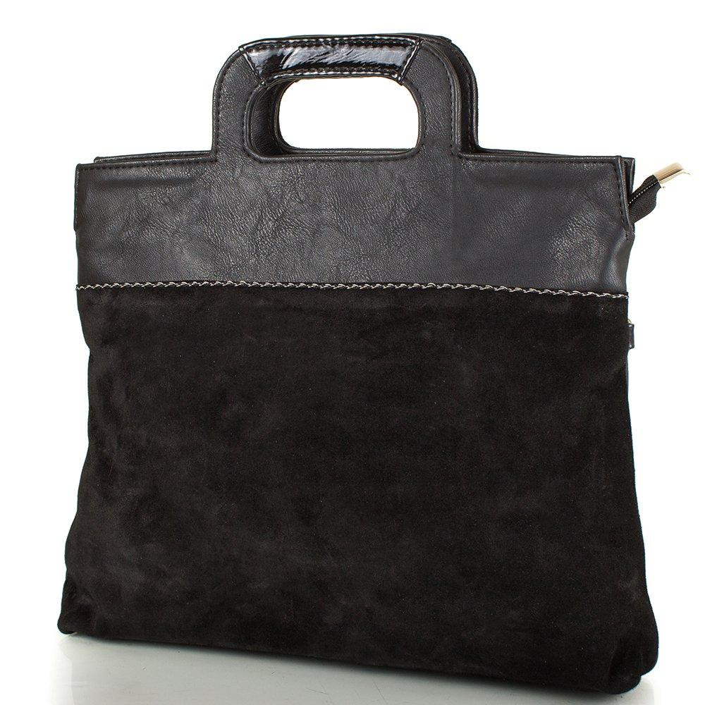 Женская сумка из натуральной замши и качественного кожезаменителя МІС MS0515-2 МІС