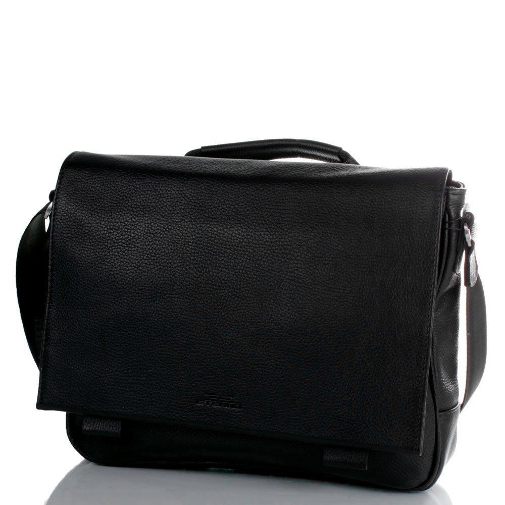 Мужская кожаная сумка-почтальонка ETERNO (ЭТЕРНО) ETMS4145 Eterno