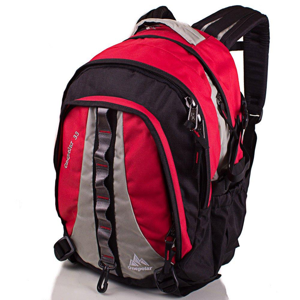 Мужской рюкзак ONEPOLAR (ВАНПОЛАР) W1002-red Onepolar