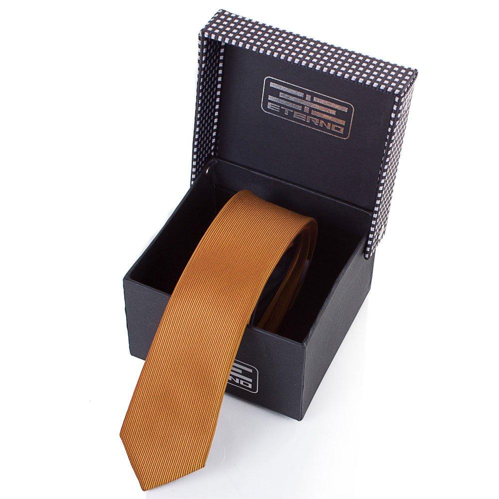 eterno Мужской узкий шелковый галстук ETERNO (ЭТЕРНО) EG606