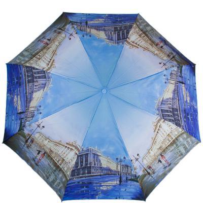 Зонт женский компактный полуавтомат ZEST (ЗЕСТ) Z24665-1090 Zest