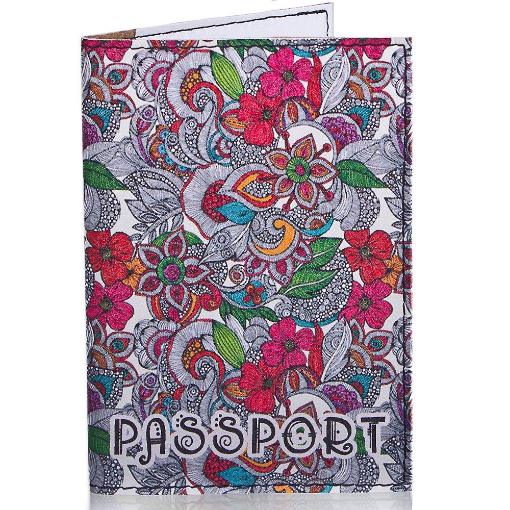 Женская обложка для паспорта PASSPORTY (ПАСПОРТУ) KRIV020 Passporty