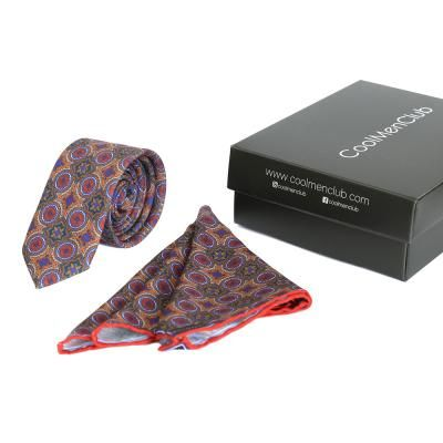 coolmenclub Комплект подарочный шелковый для мужчин CoolMenClub (КУЛ МЭН КЛАБ) SK5001