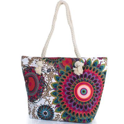 Женская пляжная тканевая сумка ETERNO (ЭТЕРНО) DCT-304-1-03 Eterno
