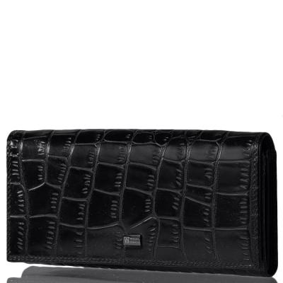 Женский кожаный кошелек WANLIMA (ВАНЛИМА) W120467400132-black Wanlima