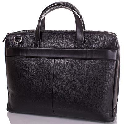 Кожаный мужской портфель с отделением для ноутбука 12,6