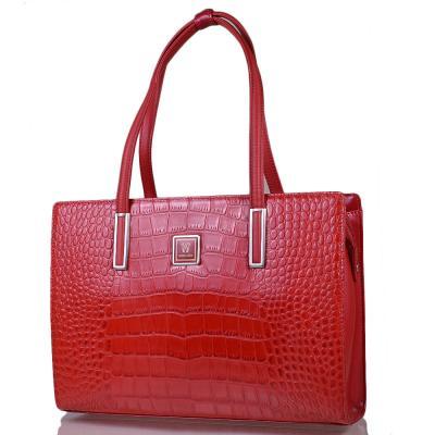 Женская кожаная сумка WANLIMA (ВАНЛИМА) W120294800100-red Wanlima