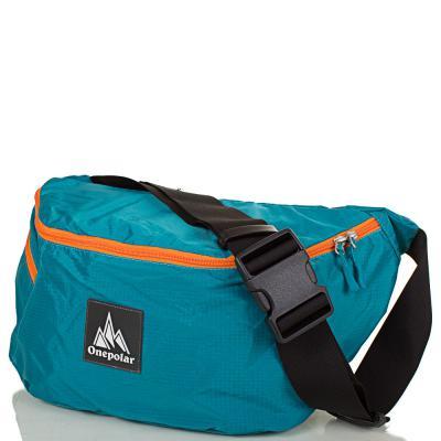 Женская поясная сумка ONEPOLAR (ВАНПОЛАР) W5271-biruza Onepolar