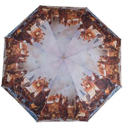 Зонт женский компактный полуавтомат ZEST (ЗЕСТ) Z24665-5033 Zest
