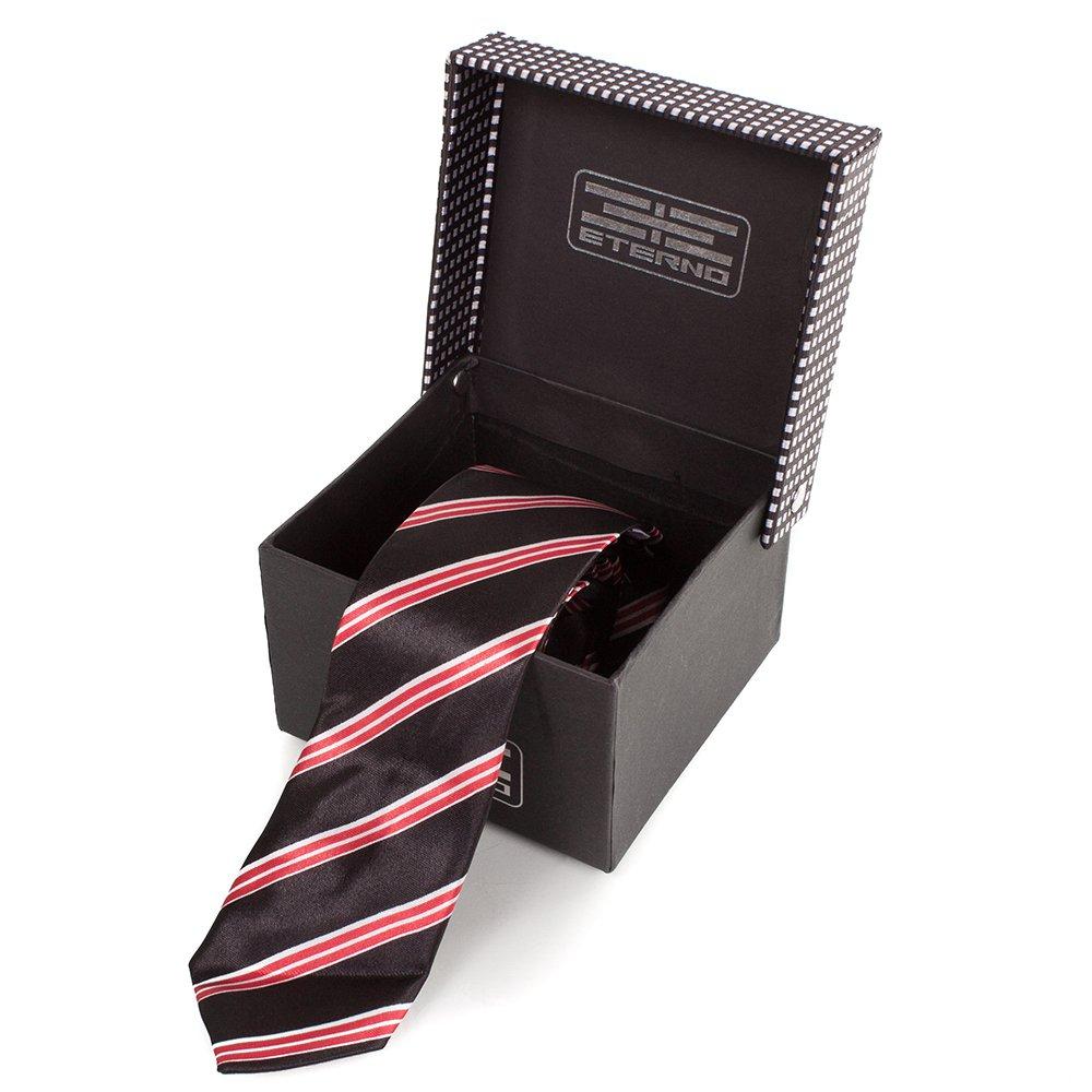 eterno Мужской узкий шелковый галстук ETERNO (ЭТЕРНО) EG616