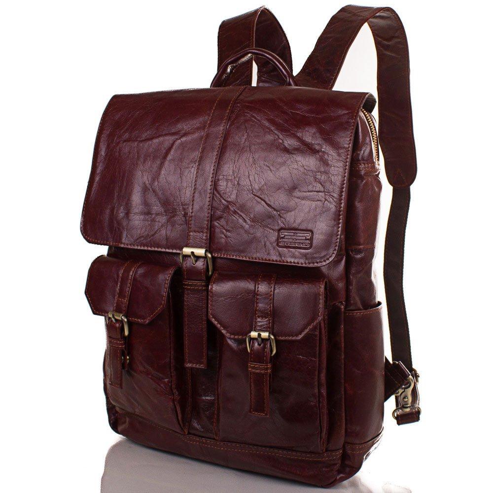 Мужская кожаная сумка-рюкзак ETERNO (ЭТЭРНО) ET1017-1 Eterno