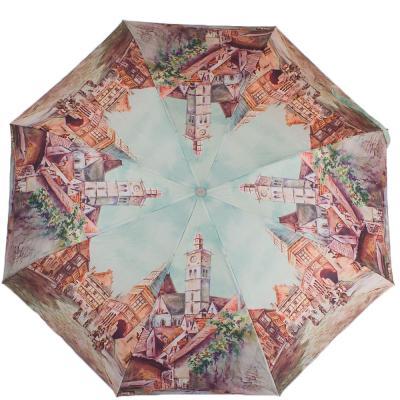 Зонт женский компактный полуавтомат ZEST (ЗЕСТ) Z24665-3934 Zest